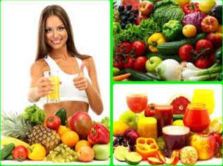 полезная пища и витамины картинка